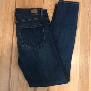 Paige  Hoxton Ankle Skinny jeans size 28